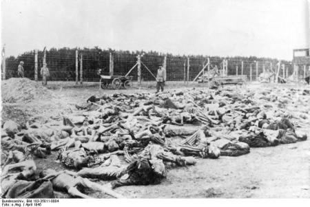 KZ Buchenwald, Leichen von Häftlingen