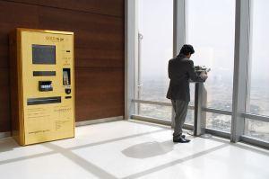 Goldautomat im Burj Khalifa