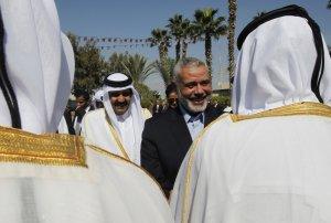 PALESTINIAN-QATAR-GAZA-DIPLOMACY