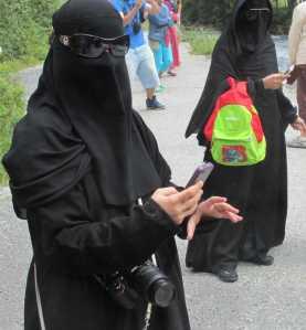 2 - mit teuersten kameras ausgestattete moslemfrauen 2013