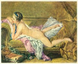 7, Francois Boucher, Ruhendes Mädchen