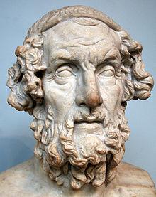 Homer - römische Kopie eines hellenistischen Originals