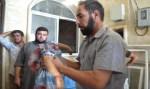 107 ein christ zeigt sein von Muslimen geköpftes Mädchen