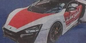 Das muslimische Land Abu Dhabi will Polizeiautos um 3 Millionen Euro pro Stück bestellen