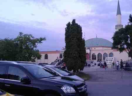Moschee in der besten Wohngegend von Wien