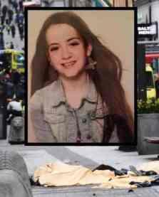 20170407, Junge Schwedin, die bei einem LKW-Djihad eines Muslims in Stockholm ermordet wurde