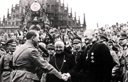 009 Warlord Hitler mit Reichsbischof Mueller ev