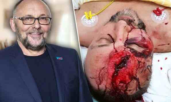 Der AfD-Abgeordnete Frank Magnitz wurde Jänner 2019 am Weg zu seinem Auto schwer verletzt