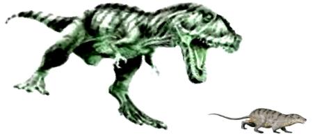 Raubsaurier jagt Eomaia vor 225 Mio Jahren